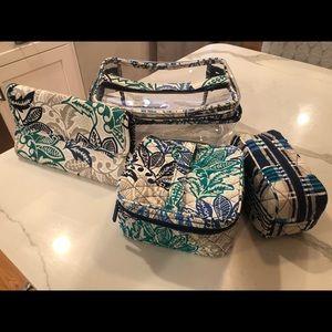 Vera Bradley makeup bags 4!